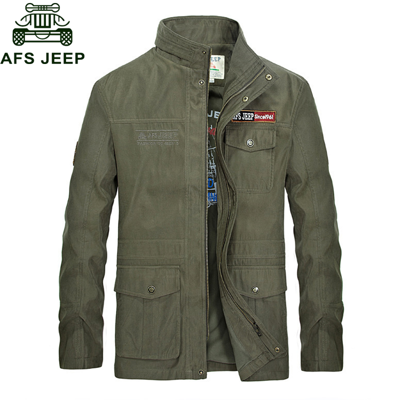 Outwear Otoño Homme Militares Veste Mediados Dark Hombres Stand Militar  Collar Windbreaker Chaqueta Largo Abrigo bolsillos ... f8a91f78bdf
