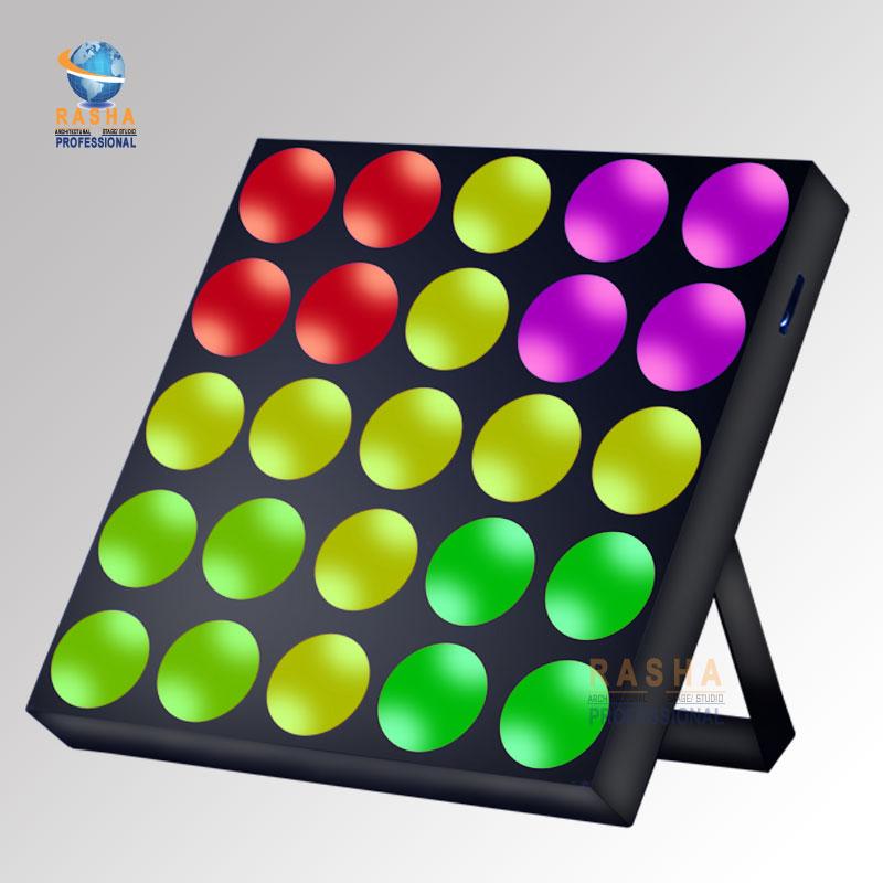 Promotion Rasha Matrix Gar 5*5 4in1 RGBW Quad Color Pixel LED Matrix Light Stage Matrix Beam Light Matrix LED Display Wall Washe