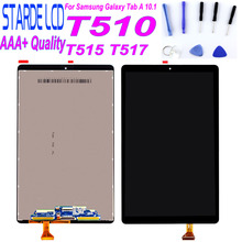Starde LCD for Samsung Galaxy Tab A 10.1 2019 T510 T515 T517 SM-T510 LCD Display Touch Screen Digitizer Sensor Matrix Assembly black for samsung galaxy tab a 7 0 sm t285 t285 touch screen sensor glass digitizer lcd display panel monitor assembly frame