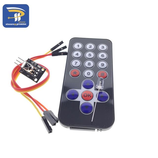 New Infrared IR Wireless Remote Control Module Kits HX1838 For Arduino Raspberry Pi Wholesale