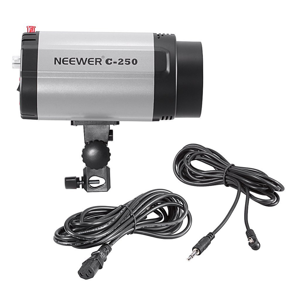 цена NEEWER C-250 250W Studio Flash Strobe Modeling Light 110V-130V 220V -Great for Amateurs OR Professional Studio Photographers онлайн в 2017 году