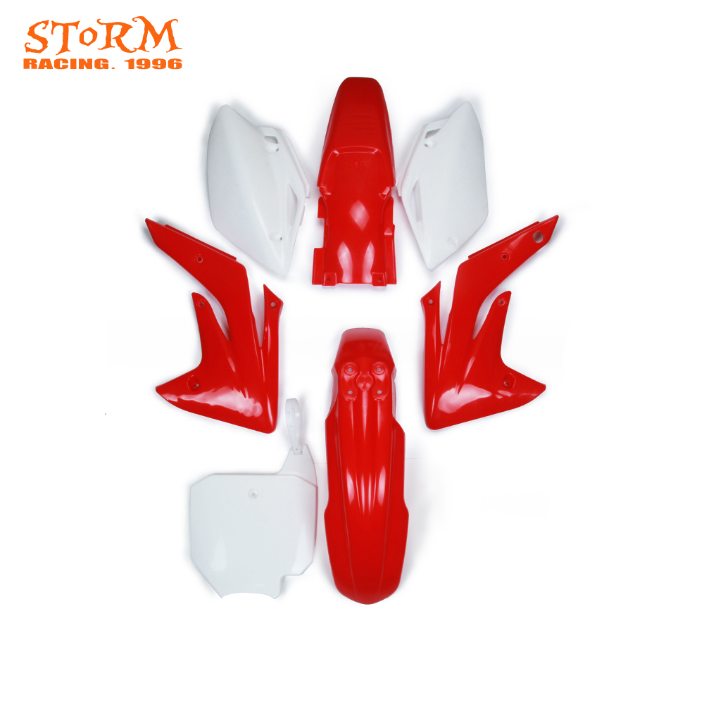 Motorcycle Plastic Kit Front and Rear Fender For HONDA CRF150R CRF 150R 150 R 2007 2008
