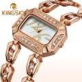Ladies Dress Watches Luxury Brand Women Wrist Watches Quartz Gold Silver Rhinestone Wristwatch Reloj Mujer Clock Female