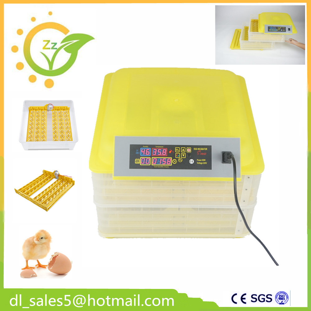 Cheap Price CE Certificate Poultry Hatchery Machines  Automatic 96 Egg Turner Hatching Incubators For Sale top sale household farm egg incubators 24 egg incubators for led display turner for sale