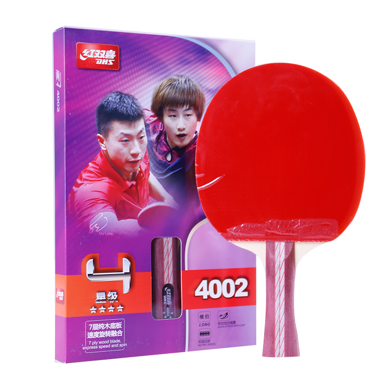 Original DHS 4002 4006 table tennis racket pimples in rubbers fast attack loop DHS racquet sports ping pong paddles