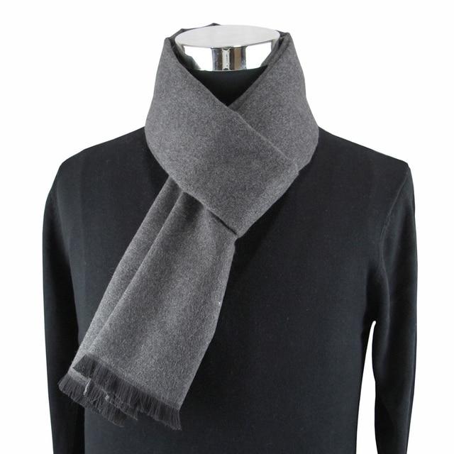 Мужской кашемировый шарф на каждый день 2