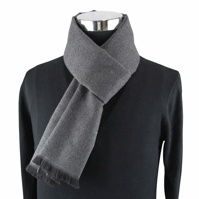 Warm Cashmere Scarf for Men