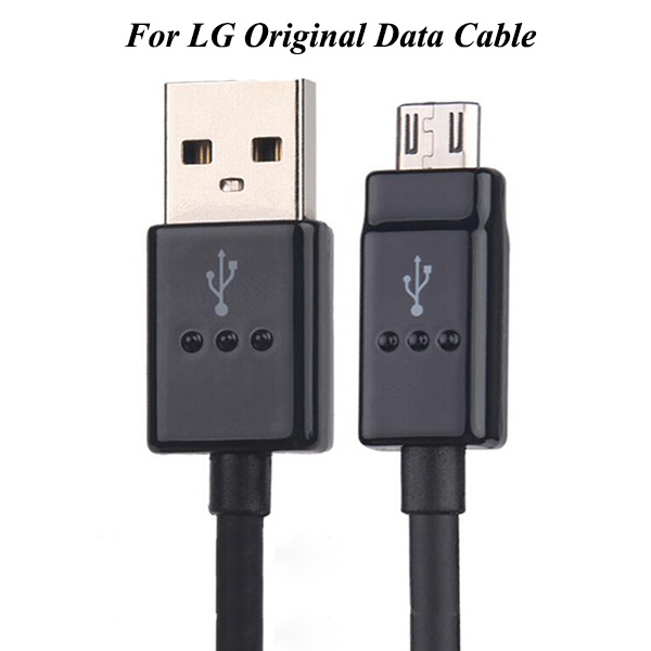 1pcs/lot 100% Genuine Original USB Data Sync Charging Cable For micro cable For LG Nexus 4/5 F340 F350 G3 20AWG pure copper