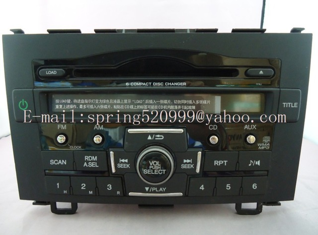 Brand New Matsushita 6 CD Changer CQ EH70COUD For CRV Car Radio 39100 SWA
