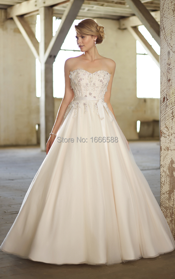 Free Shipping WD 1649 Latest design detachable 2 in 1 wedding ...