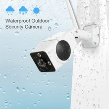 Panoramic  Outdoor security camera 2.0MP 1080P Waterproof WIFI IP Camera with Night Vision 2-Way Audio Motion Detection цена