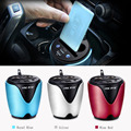 Universal 12-24V 3.1A output USB car charger &circuit breaker quick charge car cup holder Car Cigarette Lighter Socket Adapter