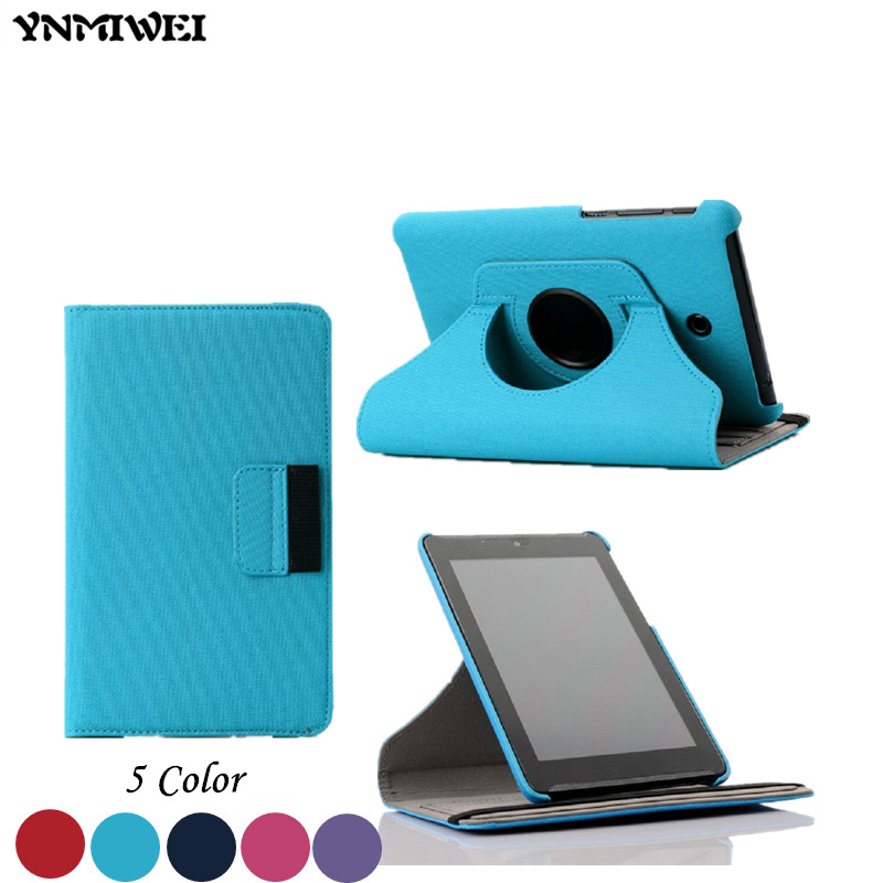 Wallet Design Cowboy Grain ME372 leather case For Asus Fonepad 7 ME372CG ME372 K00E Tablet Cover Case With Card Slot