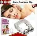 Venda quente Rússia Disponível aparelho anti-ronco Ronco Livre Clipe Nasal de Silicone Anti Ronco