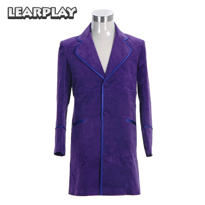 Willy Wonka Purple Jacket Cosplay Costumes 1971 Charlie and the Chocolate Factory Coat Trench Costumes For Halloween Uniforms
