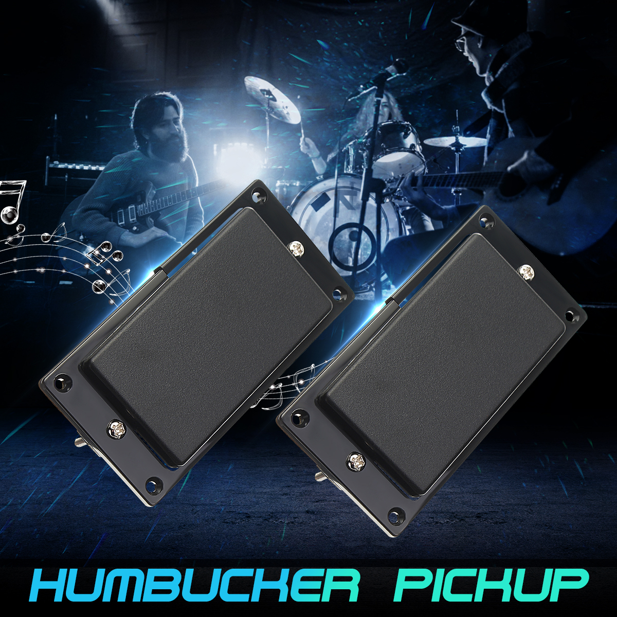 New guitar Pickups EMG 81/85 Neck/bridge Active pickups , Humbucker pickup Electric Guitar Pickups With 25K Potentiometers 2pcs chrome double coil humbucker pickups neck