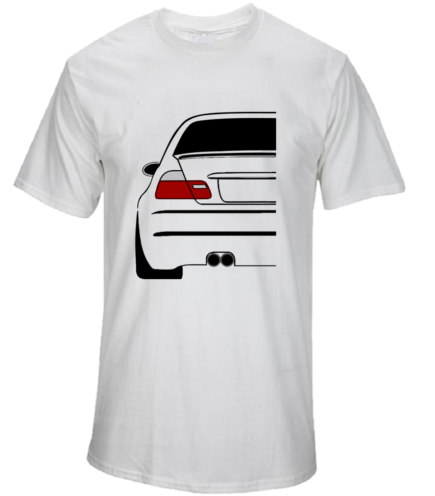 Funny Car T Shirts 3 Series Evolution Men S Summer Tops Short