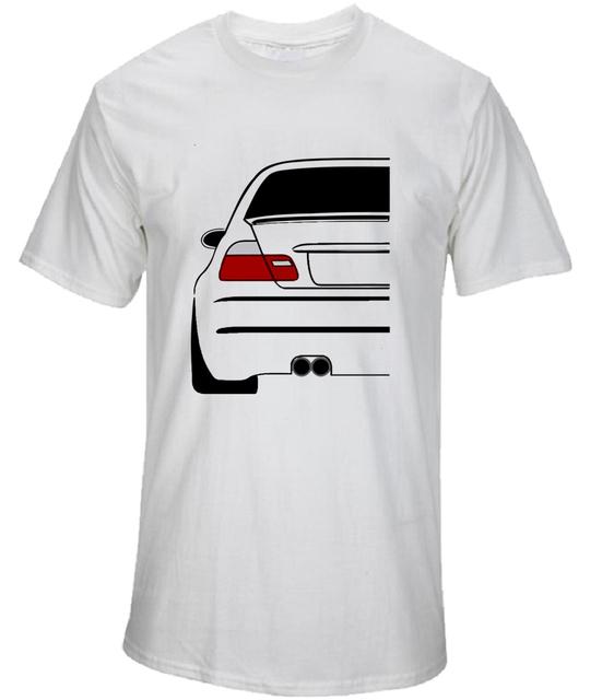 Funny Car T Shirts 3 Series Evolution Men's Summer Tops Short Sleeve Clothing Tee Classic Men Cool Bmw T-Shirt Male Supercar