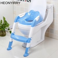Baby Potty Training Seat Children's Potty With Adjustable Ladder Infant Baby Toilet Seat Toilet Training Folding Seat Step Tools