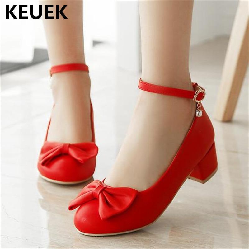 New High-heeled Children Fashion Shoes Girls Black Dress Performance Dance High Heels Princess Kids Leather Shoes 04