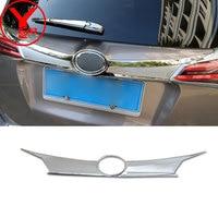 chrome tailgate cover For toyota rav4 2017 accessories ABS rear gate cover For toyota rav 4 rav4 2018 accesorios 2016 YCSUNZ
