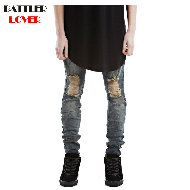 2017 Jeans Men Pants Fear of God Trousers Denim Mens Motorcycle Pencil Pant Boost Biker Jeans Men Ripped Skinny Hip Hop Joggers men jeans fear of god ripped blue mens holes leisure straight denim designer mens jeans streetwear clothing pant oversize 28 40