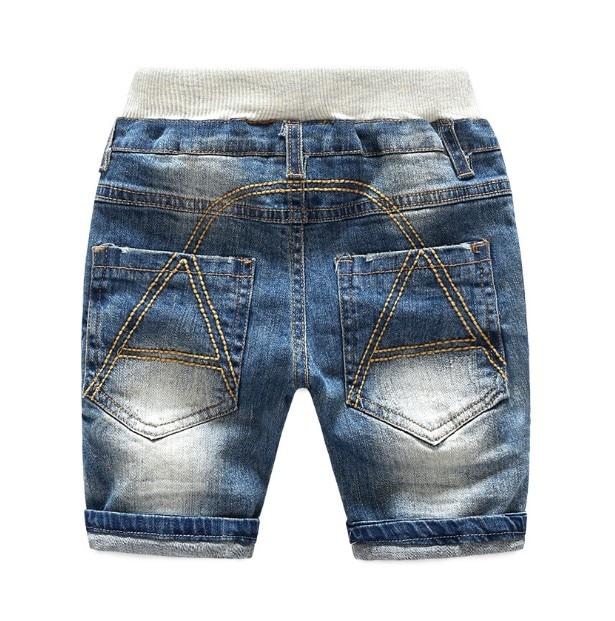 2017 Neue Jungen Mädchen Fünf Jeans Kurze Sommer Mode Baumwolle Gewaschen Weiß Hosen Baby Kleinkind Kinder Kleidung Kinder Kleidung 100% Original