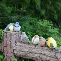 Garden Outdoor Decorations Gardening Decor Birds Statue Simulation Resin Crafts Animal Bird Figurine ZA6655