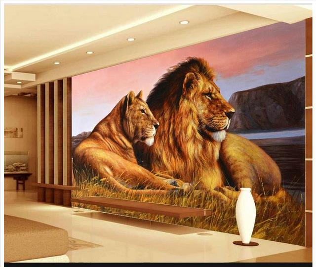 3D wall murals wallpaper custom picture mural wall paper HD African