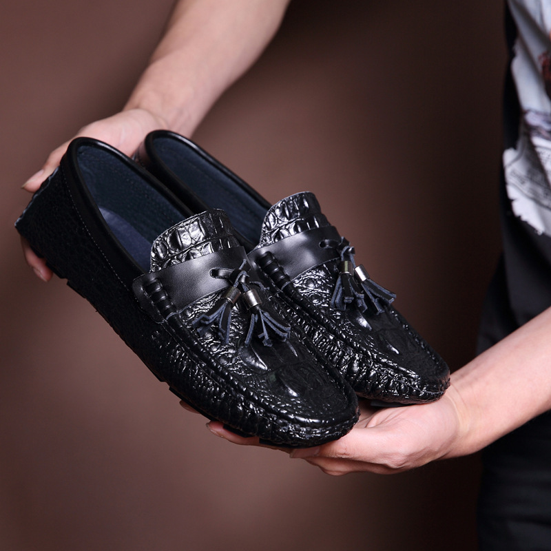 ФОТО 2016 Fashion Genuine Leather Men Loafers, Soft Leather Men Flats, High Quality Men Moccasin, Men Driving Shoes EPP132
