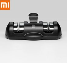 Xiaomi Huohou double wheel sharpener good knife sharpener Stages Kitchen Sharpening Stone Grinder knives Tools(China)