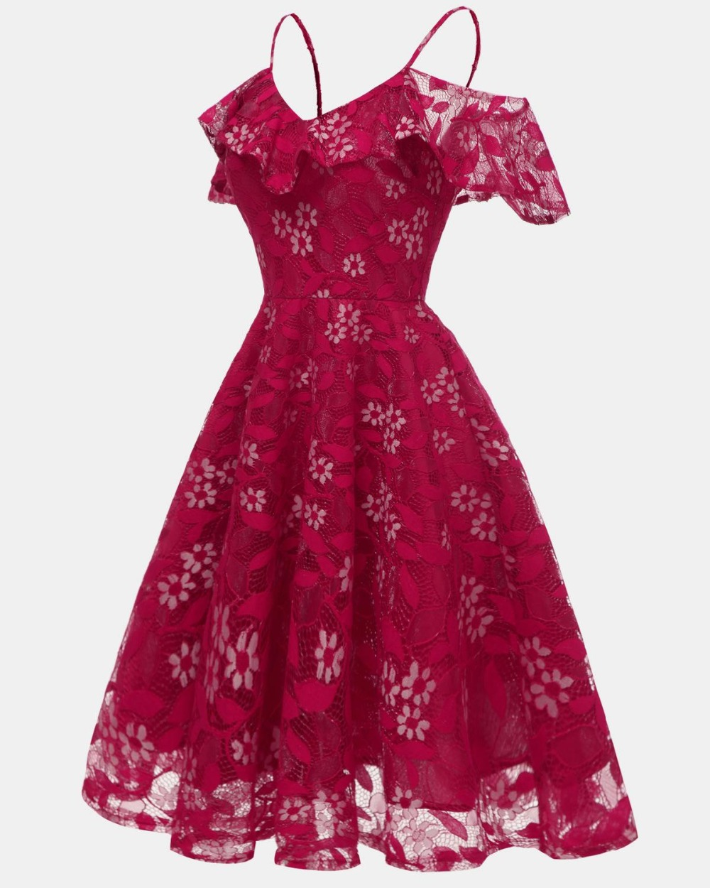 2019-Sexy-Short-Evening-Dress-Lace-burgundy-A-line-Party-Formal-Dress-off-shoulder-Homecoming-Graduation (1)