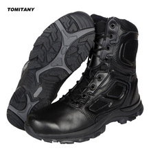 Trekking Camping Hiking Boots Men Professional Outdoor Climbing Hunting Shoes Mens Waterproof Military Tactical Boot Man new outdoor surviva hiking boots men waterproof non slip mountaineering boot men guenuine leather hiking comfortable boot men