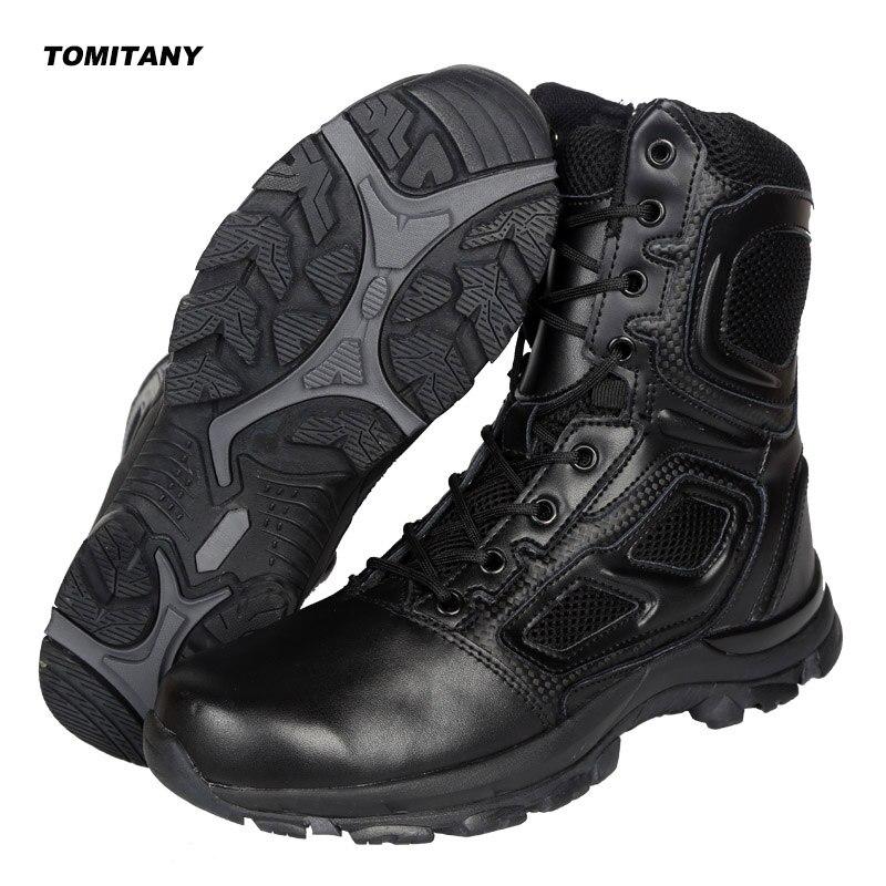 Trekking Camping Randonnée Bottes Hommes Professionnel Escalade En Plein Air Chasse Chaussures Hommes Étanche Militaire Tactique Boot Homme