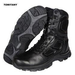 Trekking Camping buty trekingowe mężczyzn profesjonalny wspinaczki na zewnątrz buty myśliwskie męskie wodoodporne taktyczna wojskowa Boot Man