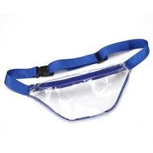 Новая модная водонепроницаемая сумка для женщин и мужчин Прозрачная ПВХ поясная сумка на пояс Bolsa Feminina Hip нагрудная сумка поясная сумка