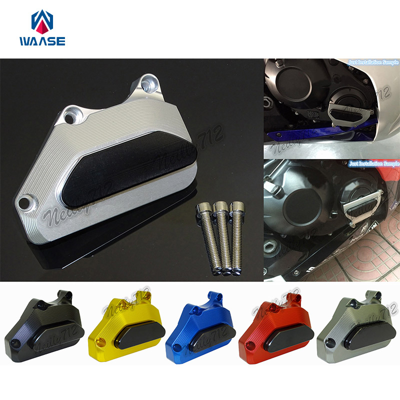 Motorcycle Right Engine Crash Pads Frame Sliders Protector For Honda CBR600RR CBR 600 RR F5 PC37 2003 2004 2005 2006 arashi motorcycle parts radiator grille protective cover grill guard protector for 2003 2004 2005 2006 honda cbr600rr cbr 600 rr