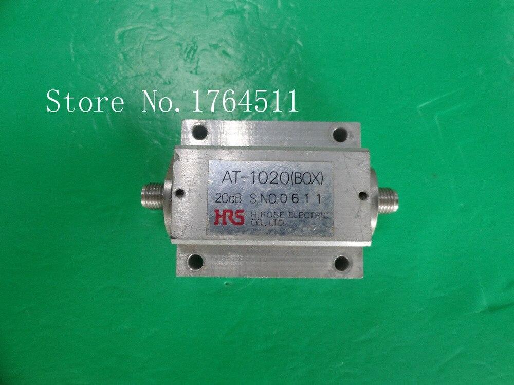 [BELLA] Hirose HRS AT-1020 (BOX) 20dB SMA Coaxial Fixed Attenuator