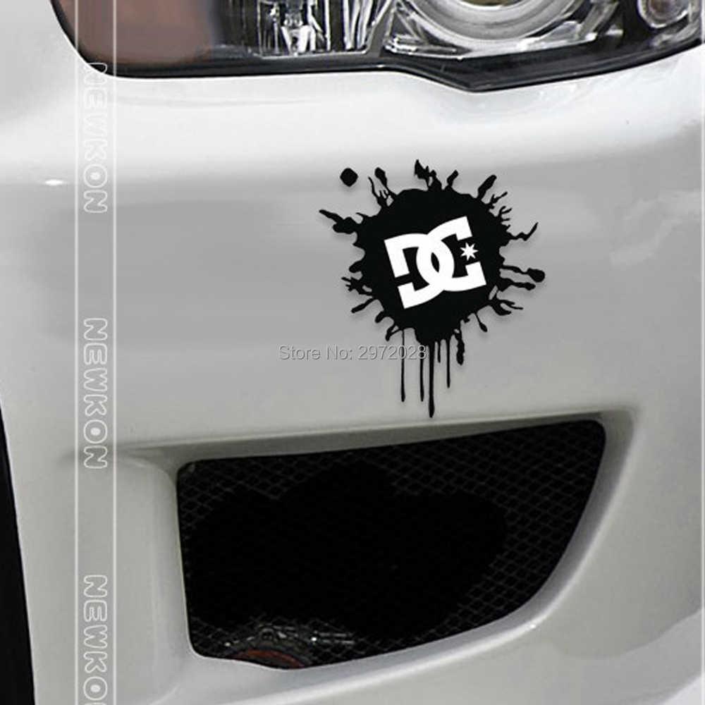 Araba çıkartmaları Ken blok DC mürekkep LogoCar çıkartması Toyota Ford Chevrolet Volkswagen VW Honda Hyundai Kia Lada