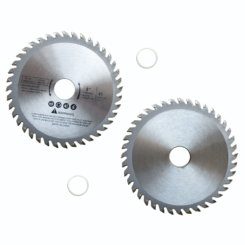 1pc Round Cutting Disc 125mm Blade 5 Inch 40 Teeth Carbide Alloy Circular Saw Blades Disc For Cutting Wood