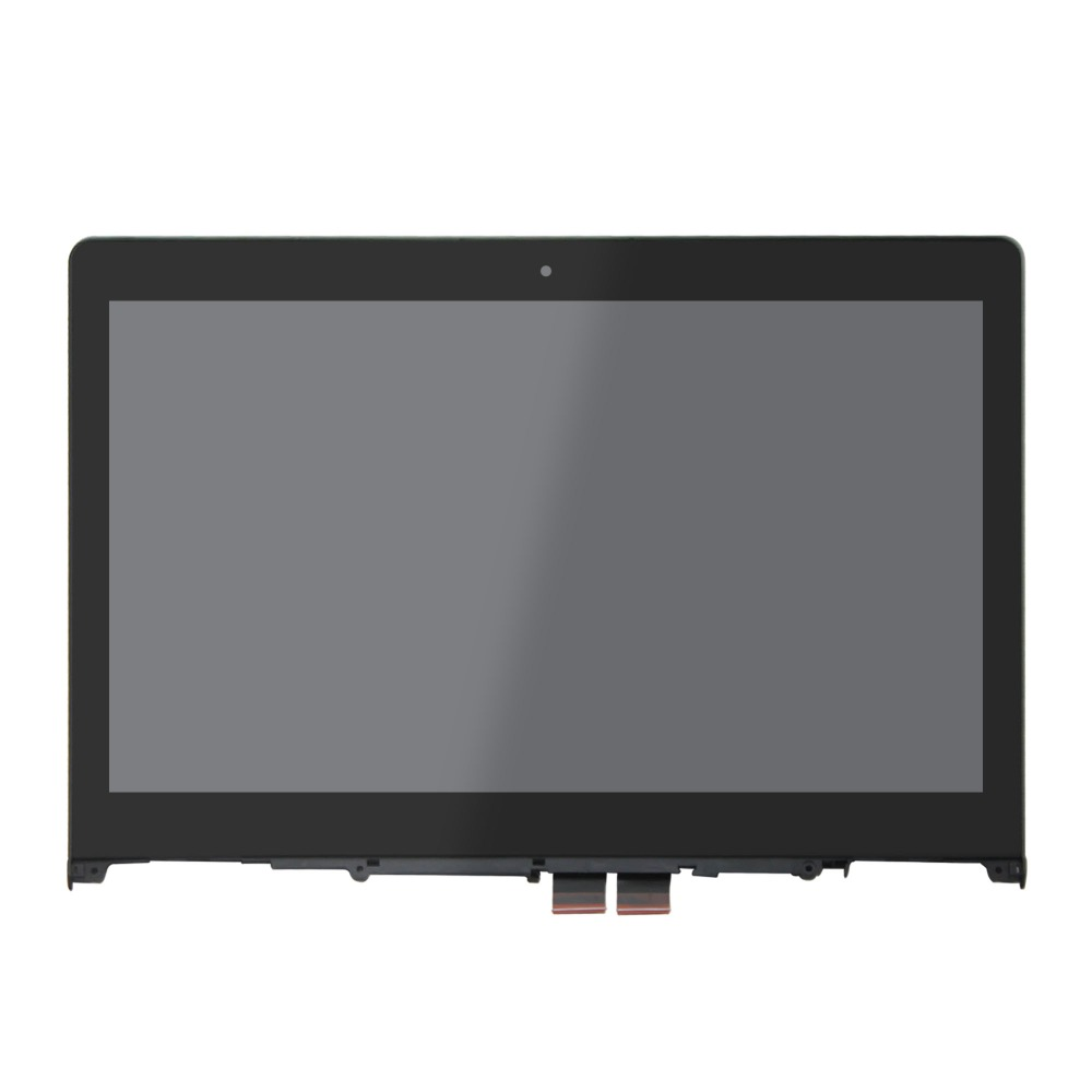 14 FHD LED LCD screen + Touch Digitizer + Bezel Assembly For Lenovo Flex 3-1480 Flex 3-1435 Flex 3-1470 80JK0014US 80R3 14 touch screen glass lcd digitizer assembly with bezel for lenovo flex 3 14 flex 3 1470 flex 3 1480 flex 3 1435 yoga 500 14