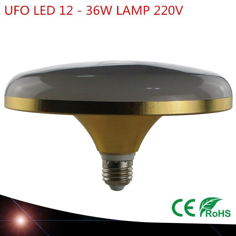 Great power UFO lamp 12W 18W 24W 36W 220V 230V LED bulb E27 LED bulb style white 5730 LED UFO spaceship quality ufo led e27 5730smd lamp12w 18w 36w 45w power bright lampada led ac 220v cool white warm globe light lamp bombillas led page 7