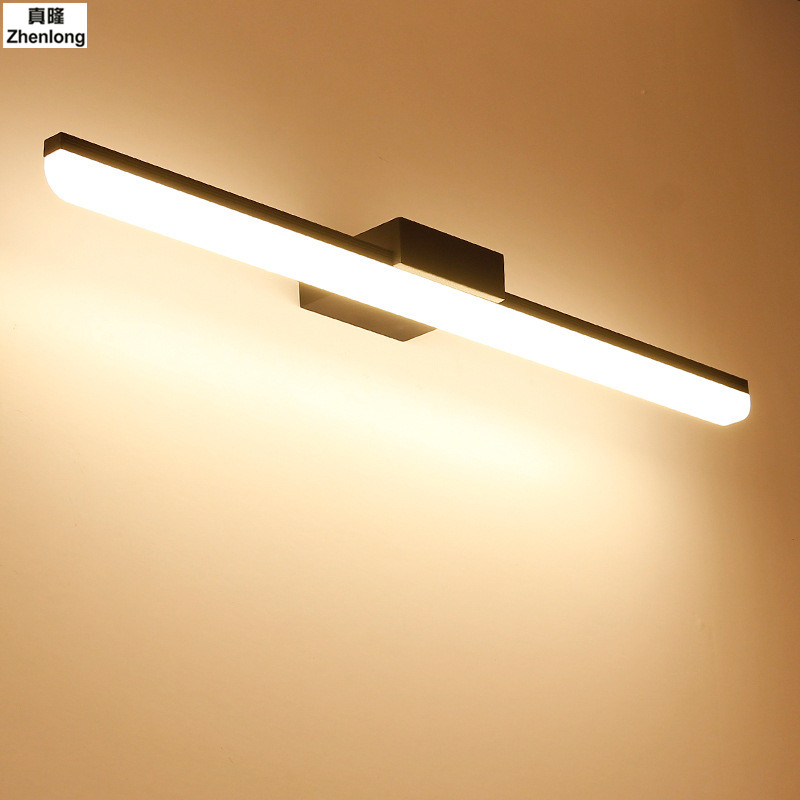 Wall Lamp Bathroom Led Mirror Light 9W 40.5cm 12W 50.5cm AC 220V 240V 110V Wall sconces Light With Switch Indoor Lighting 2835 traditional classic metal silvery electroplating led bathroom mirror light led wall lamps light wall sconces 1 light ac