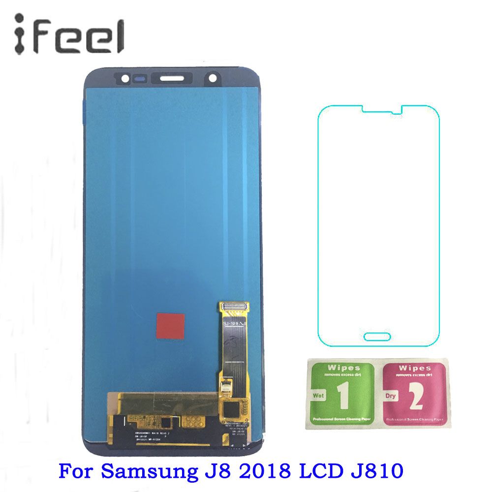 Super AMOLED LCD For Samsung J8 2018 J810 LCD For Samsung J8 2018 J810 LCD Display Touch Screen Digitizer AssemblySuper AMOLED LCD For Samsung J8 2018 J810 LCD For Samsung J8 2018 J810 LCD Display Touch Screen Digitizer Assembly