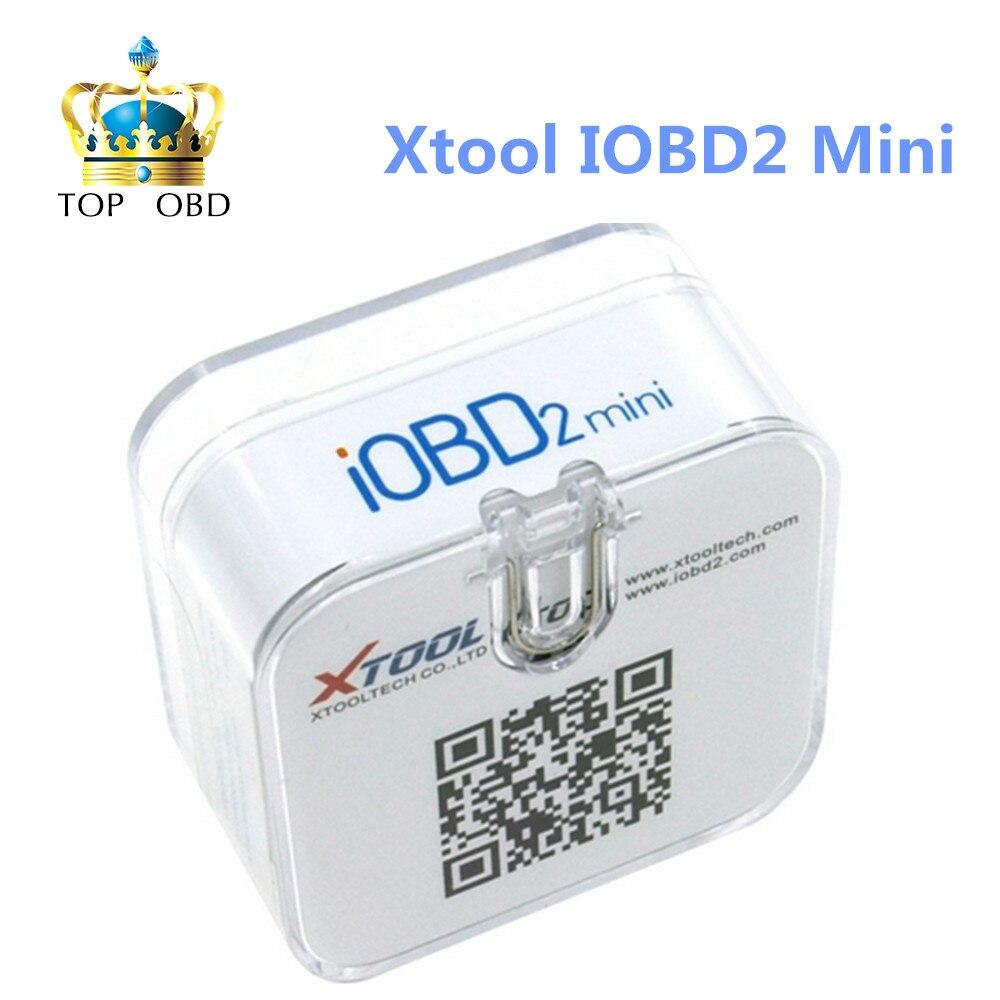 Prix pour Vente chaude D'origine Xtool IOBD2 mini pour IOS et Android IOBD2 Bluetooth outil de diagnostic avec livraison gratuite