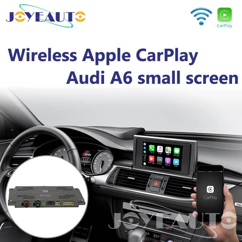 Joyeauto Carplay Wi-fi Sem Fio Apple CarPlay A6 C7 MMI RMC Pequeno 6.5