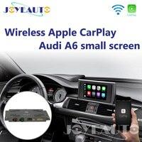 Joyeauto WiFi Wireless Apple CarPlay Carplay A6 C7 MMI RMC Small 6.5 7 Screen OEM Retrofit support Reverse Camera for Audi