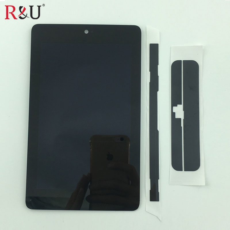 NEW LCD Display Panel + Touch Screen Digitizer Sensor Assembly For ASUS Google Nexus 7 ME370T ME370 ME370TG nexus7c 1st Gen full new lcd display touch digitizer screen for asus google nexus 7 1st gen nexus7 2012 me370 me370t me370tg free shipping