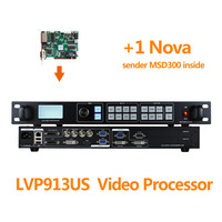 Indoor Panel display processor lvp913s with nova msd300 control system use in customized advertisement flexible led screen