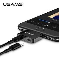 USAMS для Lightning/Lightning аудио адаптер для iPhone 8/7 адаптер для наушников OTG адаптер